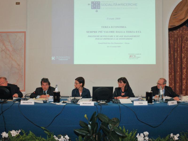 Galleria Forum 2009 – Terza Economia, sempre più valore dalla terza età